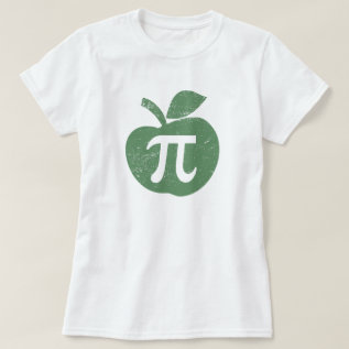 Apple Pie Pi Day T-shirt at Zazzle