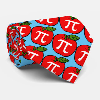 Apple Pie Pi Day Tie