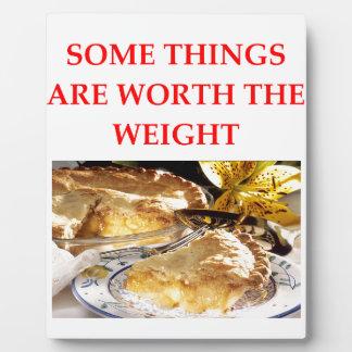 apple pie plaque