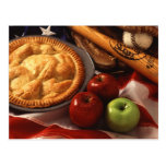 Apple pie post cards