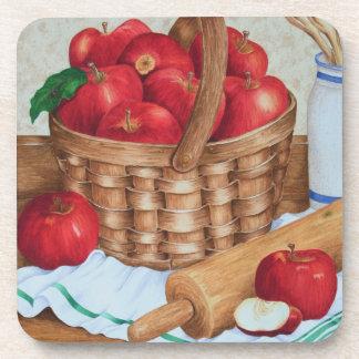 Apple Pie Still Life - Coasters Drink Coaster