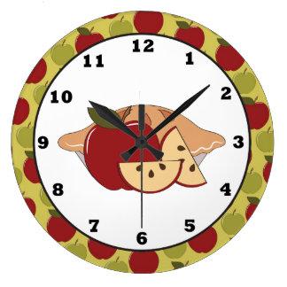 Apple Pie Sweet Treat Wall clock