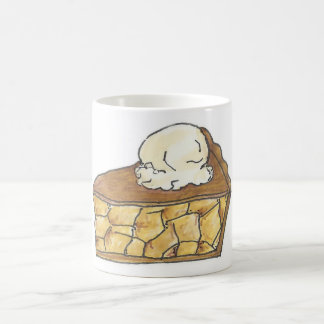 Apple Pie w/ Ice Cream Pie Slice Dessert Mug