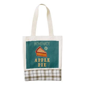 Apple Pie Zazzle HEART Tote Bag