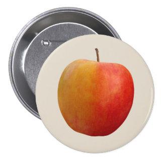 Apple Pin Redondo De 3 Pulgadas
