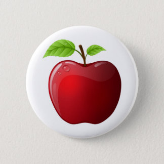 apple pinback button