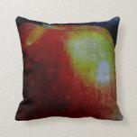 Apple pintado almohadas