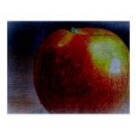 Apple pintado tarjetas postales