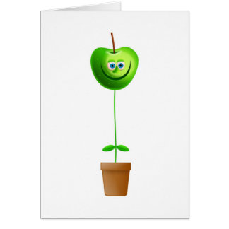 Apple Plant Card