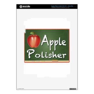 """""""Apple Polisher"""" iPad 3 Decals"""
