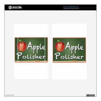 """Apple Polisher"" Skin For Kindle Fire"
