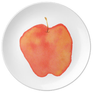Apple Porcelain Plate
