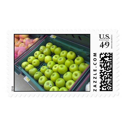 Apple Postage Stamp