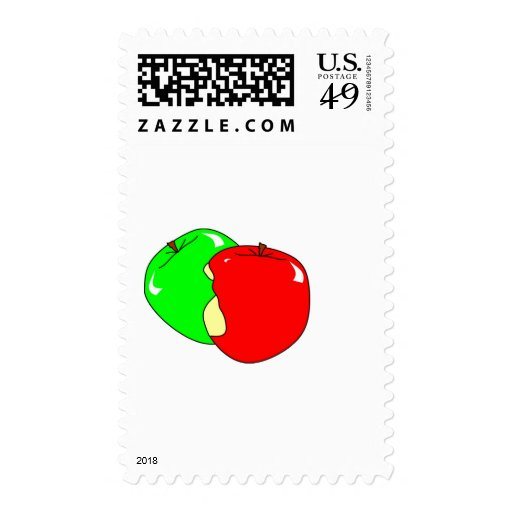 Apple Postage Stamps