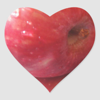 Apple product heart sticker