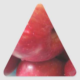 Apple product triangle sticker