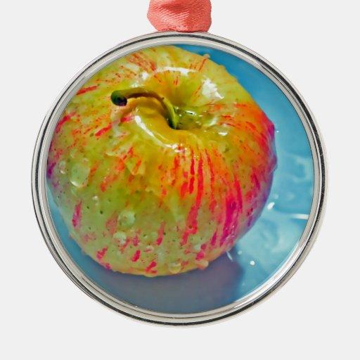 Apple que brilla intensamente adorno