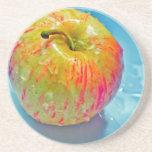 Apple que brilla intensamente posavasos manualidades
