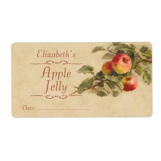 Apple que conserva la etiqueta etiquetas de envío