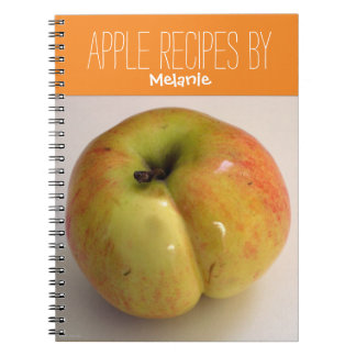 Apple Recipes Personalized cooking Notebook