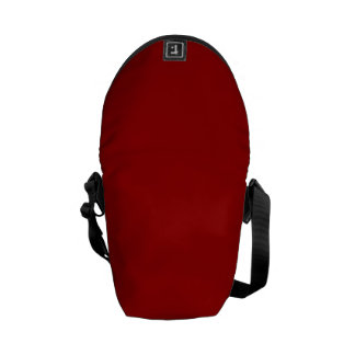 APPLE RED (a solid deep rich fruity color) ~ Courier Bag