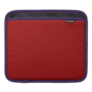 APPLE RED (a solid deep rich fruity color) ~ Sleeve For iPads