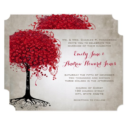 Forest Themed Wedding Invitations: Forest Wedding Invitations