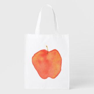 Apple Reusable Grocery Bag