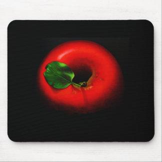 Apple rojo alfombrilla de ratón