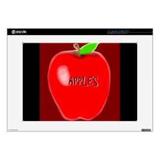 Apple rojo calcomanía para 38,1cm portátil