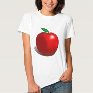 Apple rojo camisas