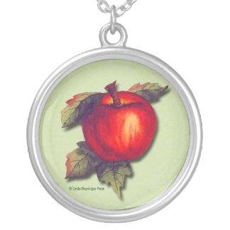 Apple rojo colgante personalizado