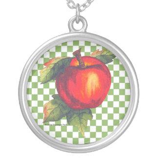 Apple rojo joyerias personalizadas