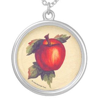 Apple rojo joyería