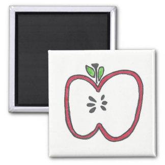 Apple rojo corta el imán