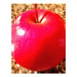 Apple rojo delicioso membretes personalizados