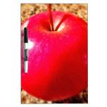 Apple rojo delicioso pizarras blancas de calidad