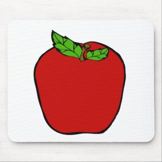 Apple rojo diseña Mousepad Tapetes De Raton