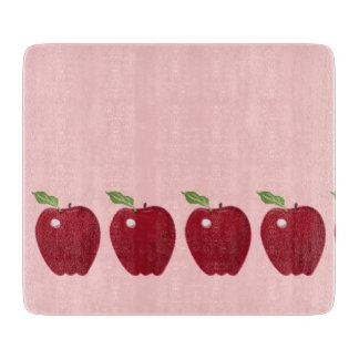 Apple rojo diseña tablas para cortar