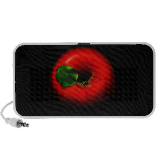 Apple rojo Doodle el altavoz