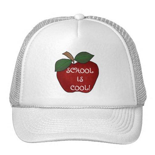 Apple rojo enseña es camisetas y regalos frescos gorras