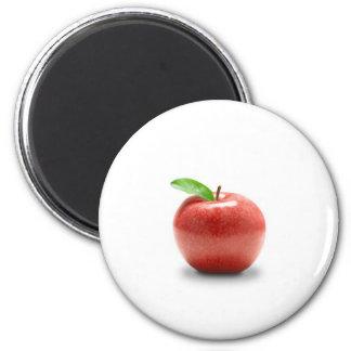 Apple rojo imán para frigorifico