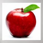 Apple rojo impresiones