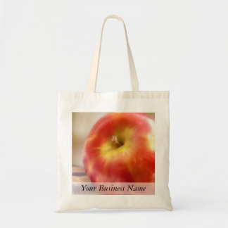Apple rojo maduro bolsa tela barata