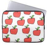 Apple rojo modela funda portátil