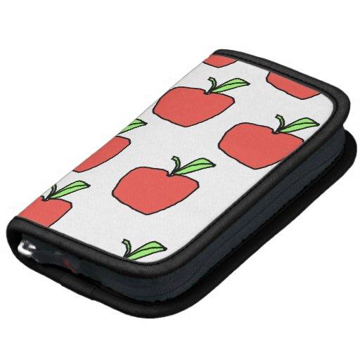 Apple rojo modela planificador