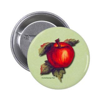 Apple rojo pin