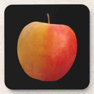 Apple rojo posavasos de bebida