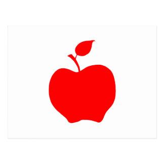 Apple rojo postales