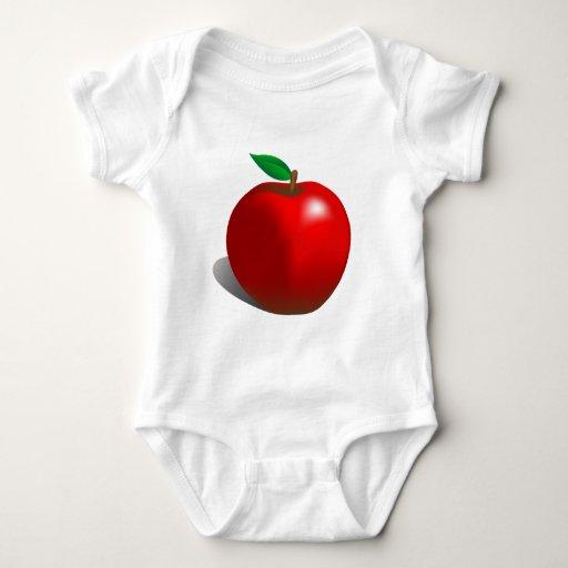 Apple rojo t-shirt